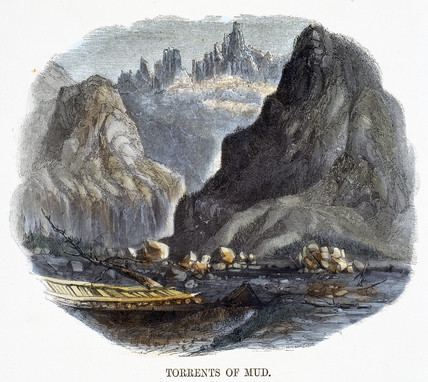 'Torrents of Mud', 1849.