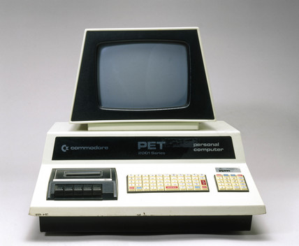 Commodore PET 2001-8-BS personal computer, 1977.