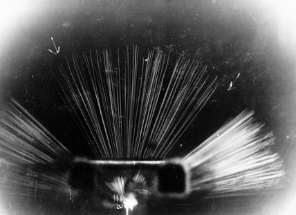 Straggling of alpha rays from polonium, c 1937.