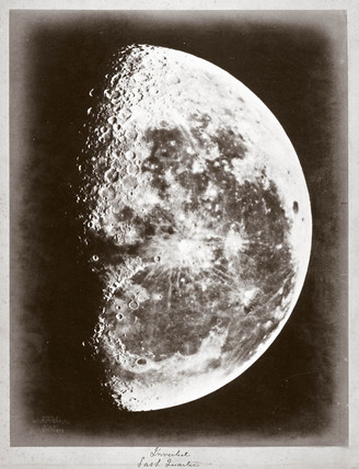 'Inverted Last Quarter' of the Moon, 1868.