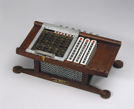 'La Multi' calculator, c 1920.