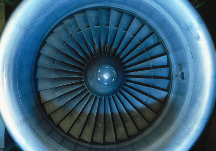 Rolls-Royce RB211 turbofan aero engine, 1970.