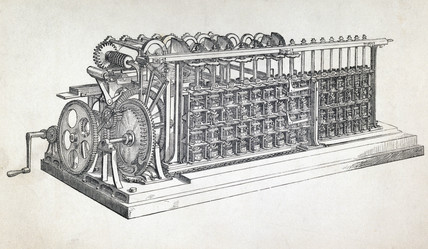Scheutz Difference Engine No 2, 1855.