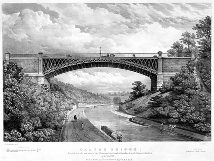 Galton Bridge, Smethwick, West Midlands, 1826.