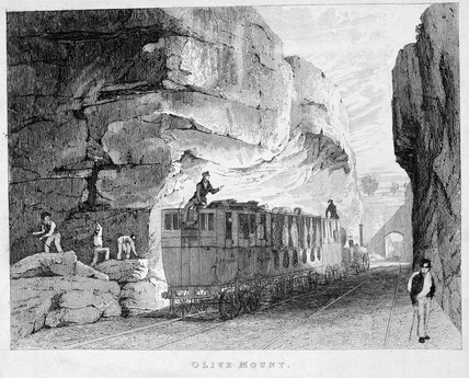 'Olive Mount', on the Liverpool & Manchester Railway', 1831.
