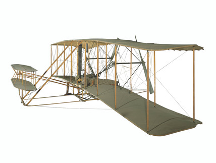 The Wright Flyer, 1903.