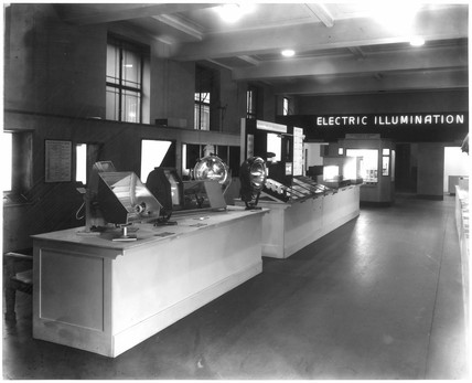 Electric Illumination exhibition view, 1936.