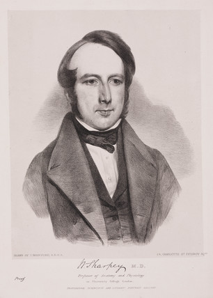 William Sharpey, English physician, c 1842.
