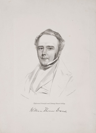 William Thomas Brande, British chemist, c 1842.