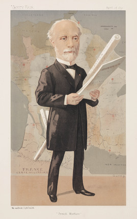 Charles Louis Saulces de Freycinet, French minister of war, 1891.