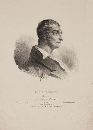 Marie Francois Xavier Bichat, French pathologist, early 19th century.