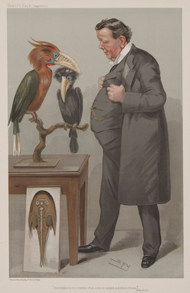Edwin Ray Lankester, English zoologist, late 19th century.