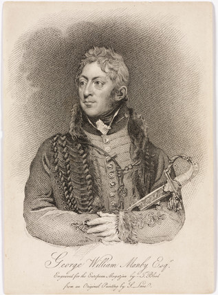 Captain George William Manby, English soldier, author and inventor, 1813.