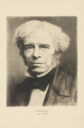 Michael Faraday, English chemist and physicist, c 1850-1860.