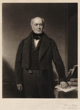 Francis Baily, astronomer, early 19th century.