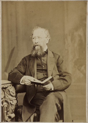 John Lindley, English botanist and horticulturalist, 1862-1865.