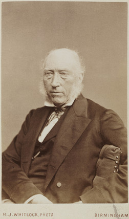 John Phillips, English geologist, c 1870.