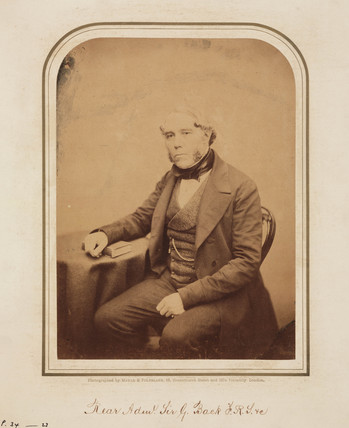 George Back, admiral and Arctic navigator, 1854-1866.