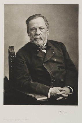 Louis Pasteur, French chemist and microbiologist, c 1885.