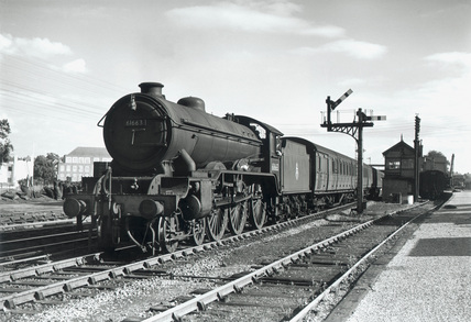 'Everton', steam locomotive No 61663, 1950.