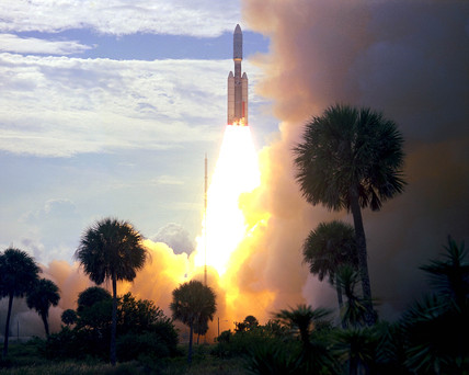 Viking 1 Launch, 1975.