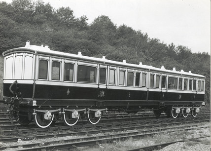 Late 19th century Royal carriage, c 1958