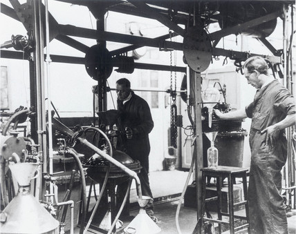 Scientists at the National Physical Laboratory, Teddington, May 1932.
