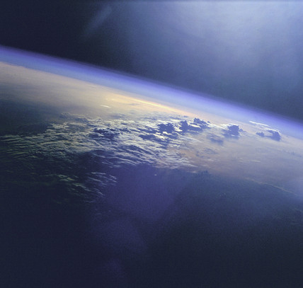 Clouds and Sunglint over Indian Ocean, 1 June 1999.
