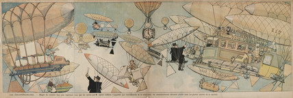 'Congestion' in the skies, France, 1901-1914.