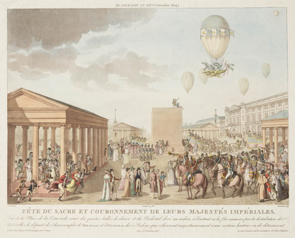 Napoleon's coronation celebrations, 3 December 1804.