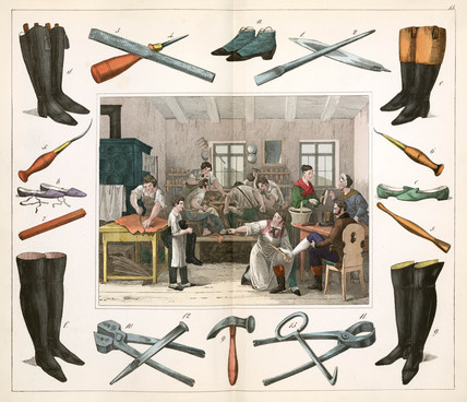 The shoemaker, 1849.