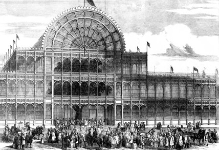 Crystal Palace Hyde Park London 1851 At Science And Society Picture Library