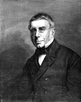 George Biddell Airy, English astronomer and geophysicist, 1868.