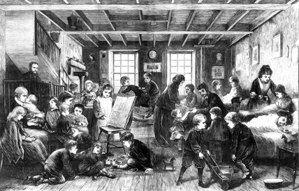East London Hospital for Children, 1872.