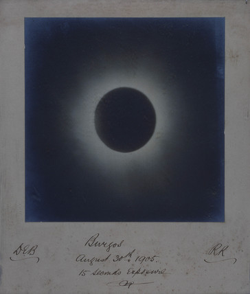 Solar eclipse, 30 August 1905.