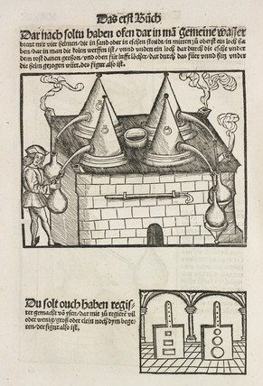 Distillation furnace, 1512.