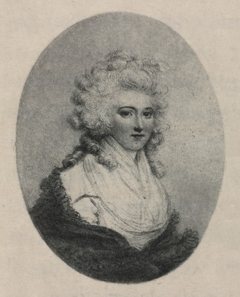 Laetitia Sage, first English woman aeronaut, late 18th century.