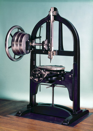 Slotting machine, c 1830.