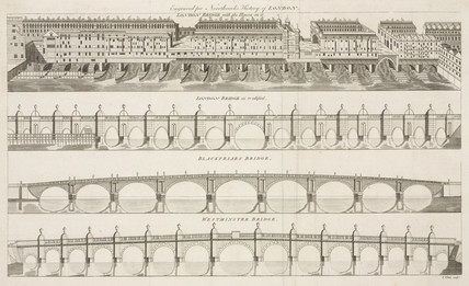 Bridges of London, 1773.