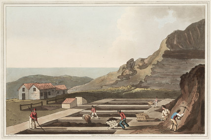 'Alum Works', North Yorkshire, 1814.