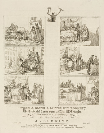 'When a man's a little poorly', 19th century.