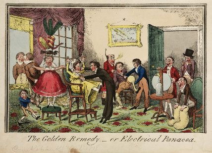 'The Golden Remedy', 1818.