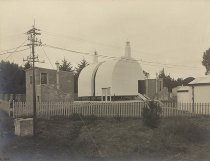 Observatory building for reversible transit circle, Cape Town, South Africa, 1909.