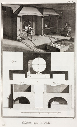 Glas-making: furnaces, 1765.