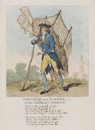 Vincent Lunardi, Italian aeronaut and balloonist, c 18th century.