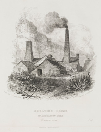 Smelting house, Middleton Dale, Derbyshire, 1818.