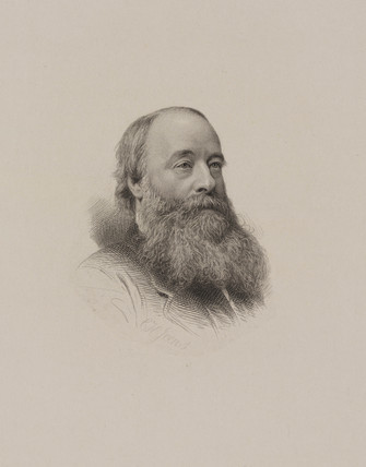 James Joule, English physicist, c 1860-1875.