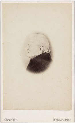 John Dalton, English chemist, c 1840.