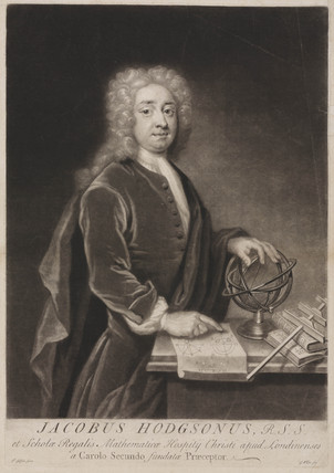 James Hodgson, English mathematician, c 1700-1750.
