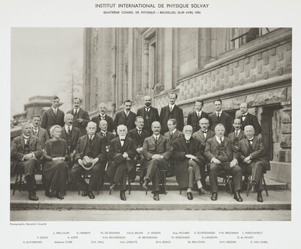 Fourth Solvay Physics Conference, Brusels, 1924.